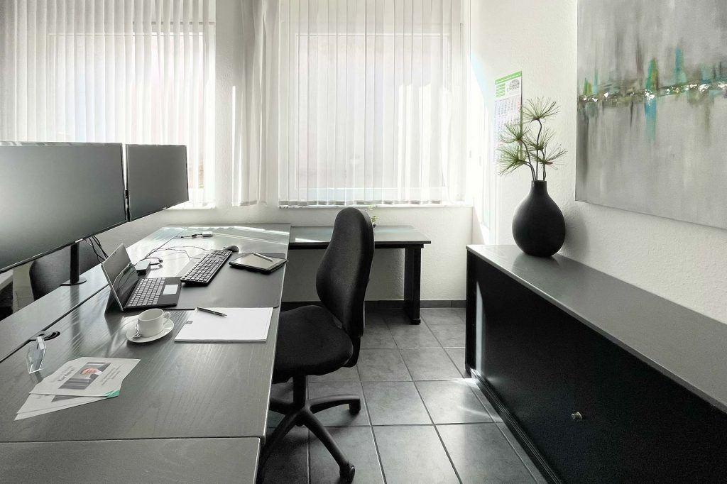 Modernes Einzelbüro
